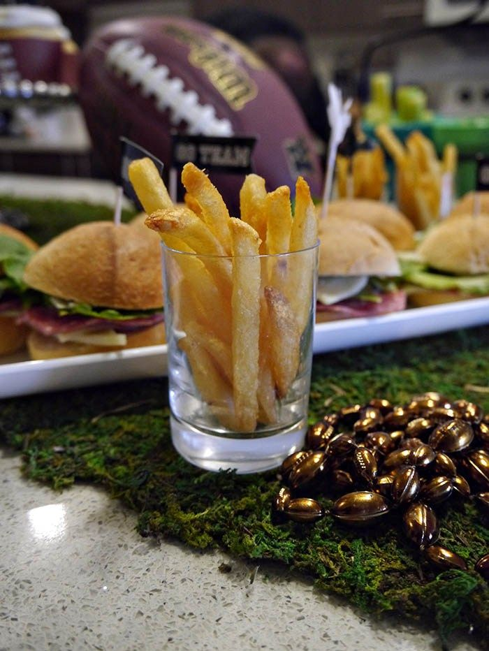 Little Fry Cups For Perfect Football Snacks