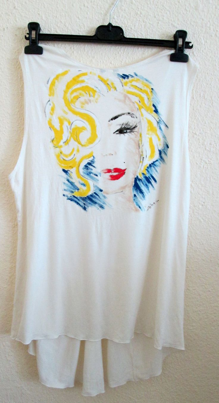 """""""Women who seek to be equal with men lack ambition.""""-Marilyn Monroe  Hand painted"""