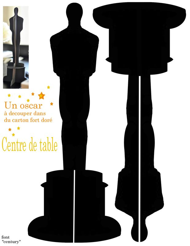 Les 25 meilleures id es concernant th me cin ma sur for Centre de table cinema