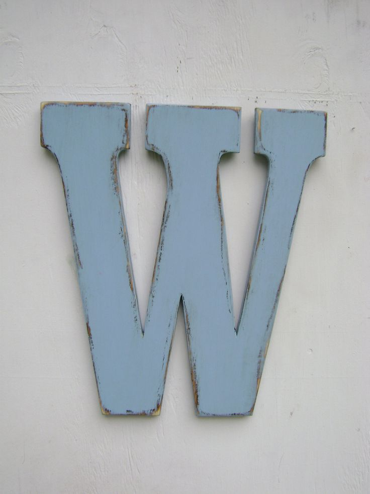 17 best images about wofford on pinterest the duchess chloe and wood letters - Decorative wooden letters for walls ...