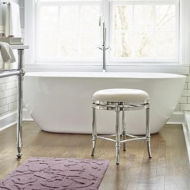 17 Best Images About Vanity Stool On Pinterest White