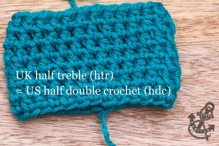 Basic Crochet Stitches – Half Treble