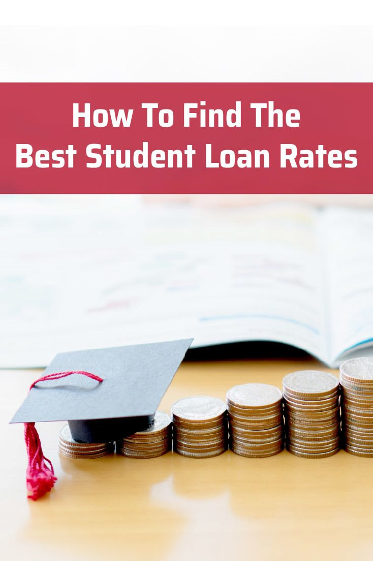 Here's our guide to help you find the best student loan rates so that you can get the best interest rate on your student loans.