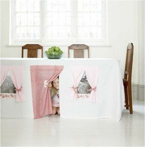 Tablecloth Play Tent