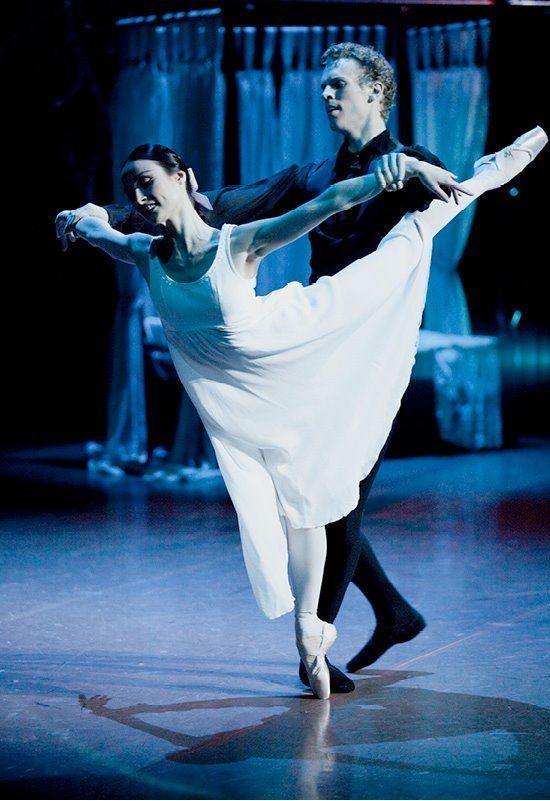 """Amber Scott and Adam Bull in Onegin (The Australian Ballet, 2012) """