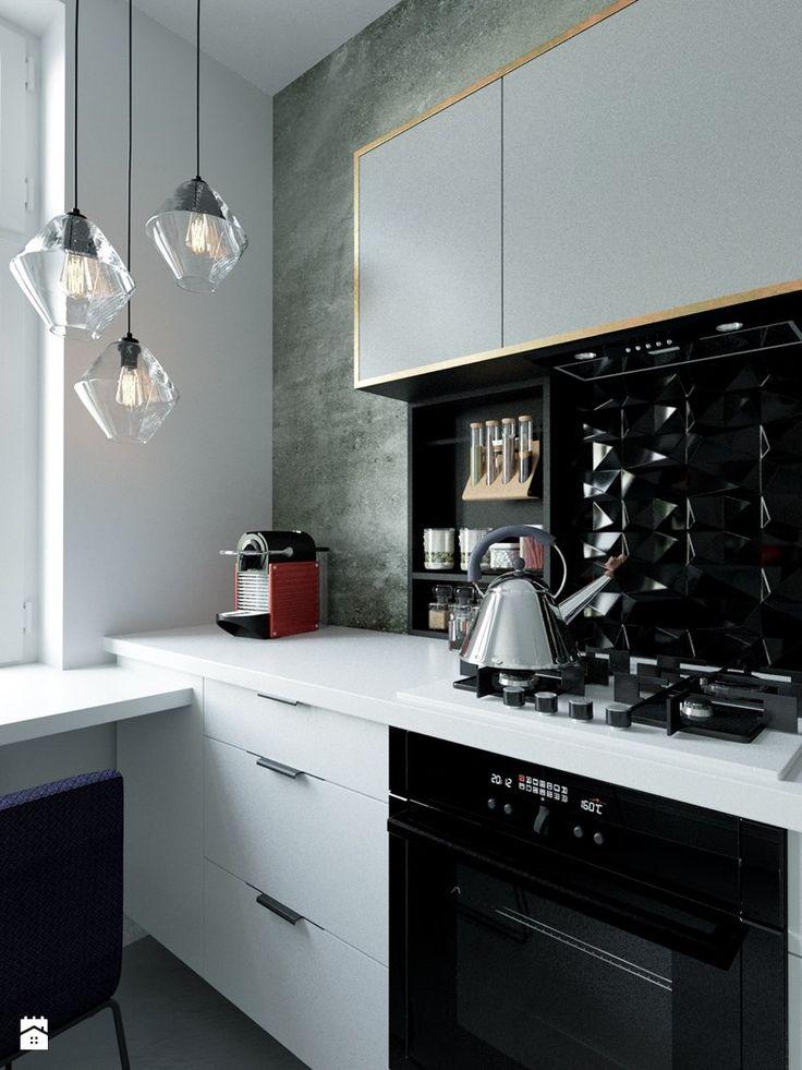 Projekt kuchni w Nysie - zdjęcie od Houselab - Projektowanie Wnętrz - Kuchnia - Styl Nowoczesny - Houselab - Projektowanie Wnętrz