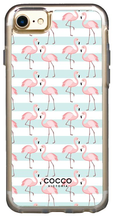 Flamingo Dance Vogue Case - iPhone 7/6S/6 - coccovictoria.com