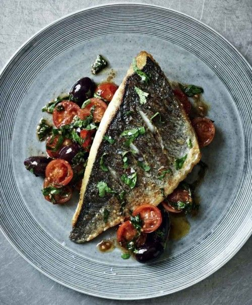 Porgy with tomato and herb salsa recipe salsa herbs for Porgy fish recipe