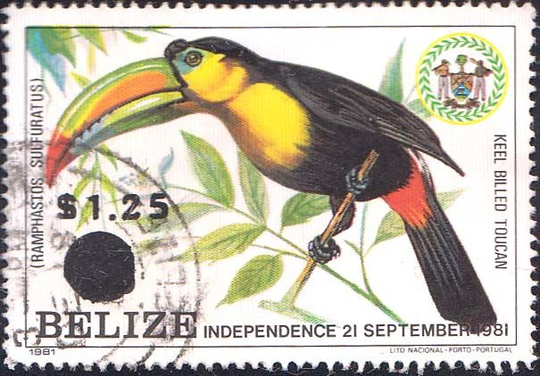 postage stamps of Belize