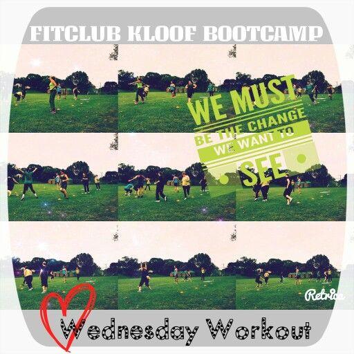 FitClub Kloof workout Wednesday Fitclubkloof@gmail.com