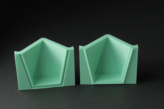 Square Votive Mold Reusable Mold Sizes S Xxl Now By Boldprints Polyhedron Forms Суккуленты
