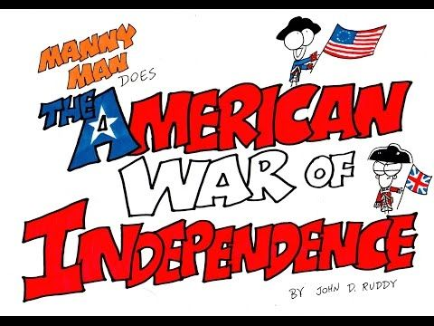 American War of Independence in 9 Minutes - YouTube | This guys is fantastic! Great for quick reviews after learning the subject matter.