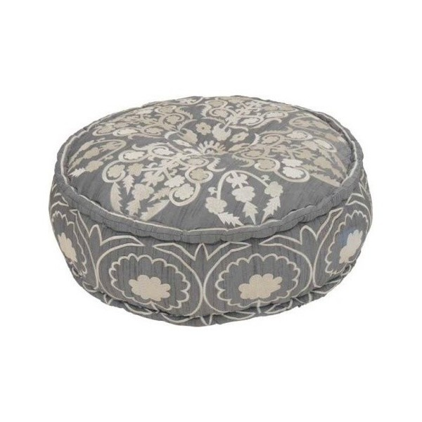Fez Pouffe - eclectic - ottomans and cubes - - by soukshop.com, found on polyvore.com