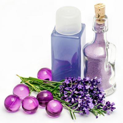 Duschgel selber machen - Duschgel Rezept für Lavendel Duschgel - statt Lavendel Brennessel