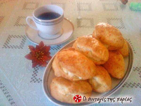 Τυροπιτάκια με ζύμη κουρού 2 #sintagespareas #tiropitakiakourou