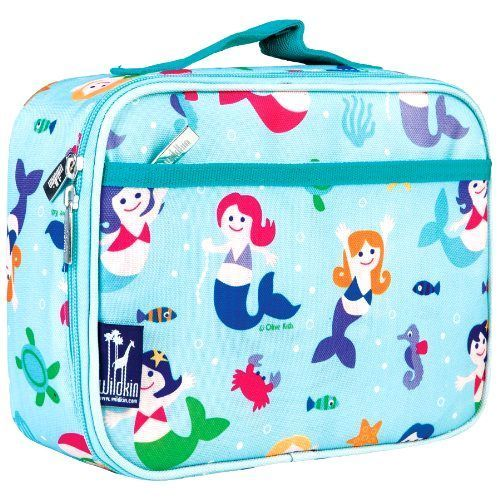 Mermaids Lunch Box Girls Lunch Kit Back to School Kids Lunch Box for Girls NEW #Wildkin