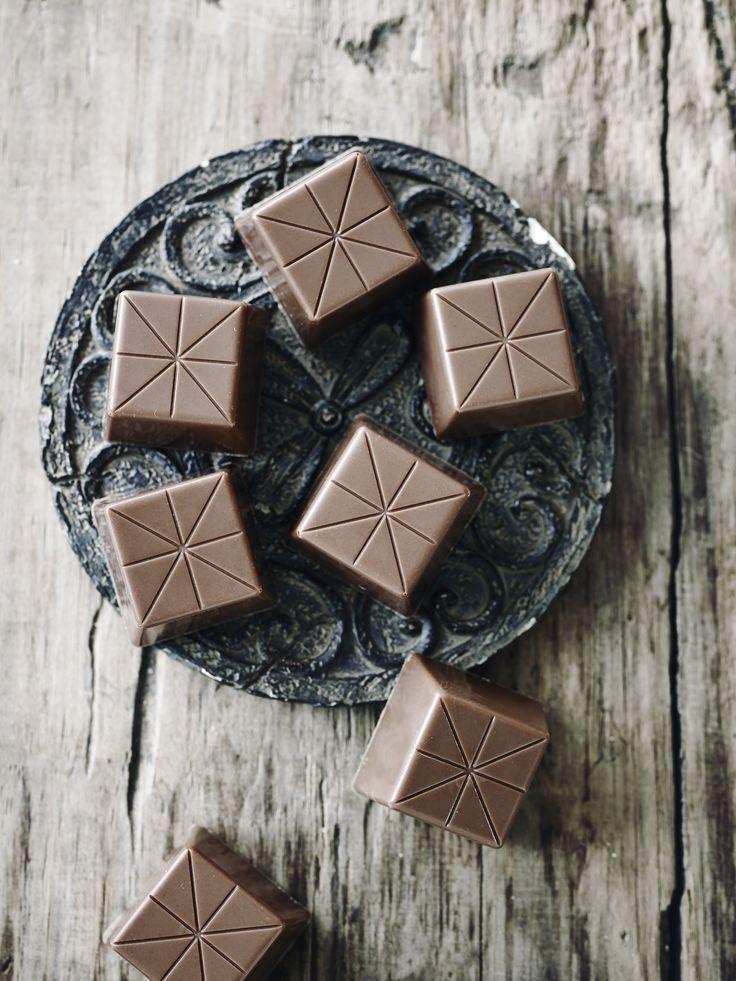 Fyldt chokolade med kaffe og whisky - BO BEDRE