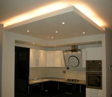 Oltre 25 fantastiche idee su illuminazione isola cucina su - Controsoffitti in cartongesso cucina ...