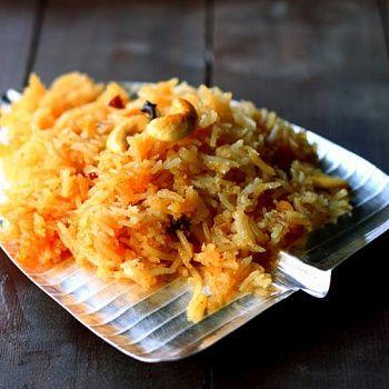 Нарали Бхат - сладкий кокосовый рис