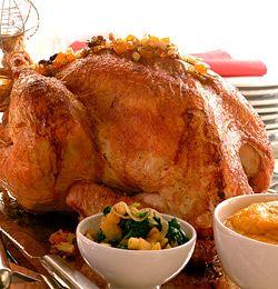 Perfekt kalkun til Thanksgiving