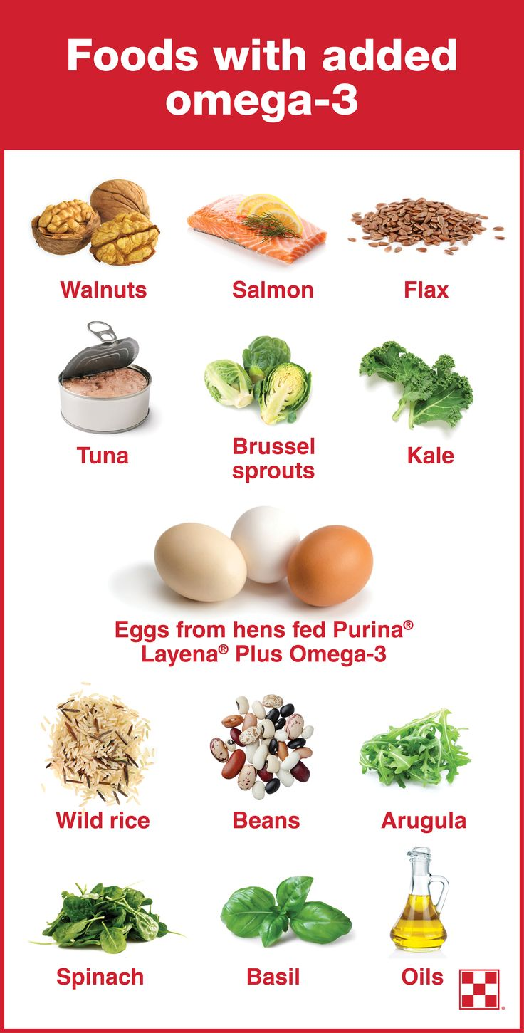 List Of Foods High In Fatty Acids