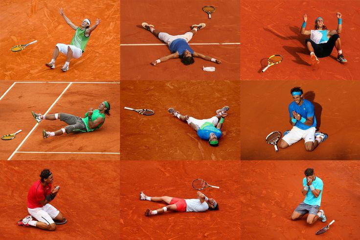 Rafa Nadal- King of the Clay- world champion Love love love this!!! ;)