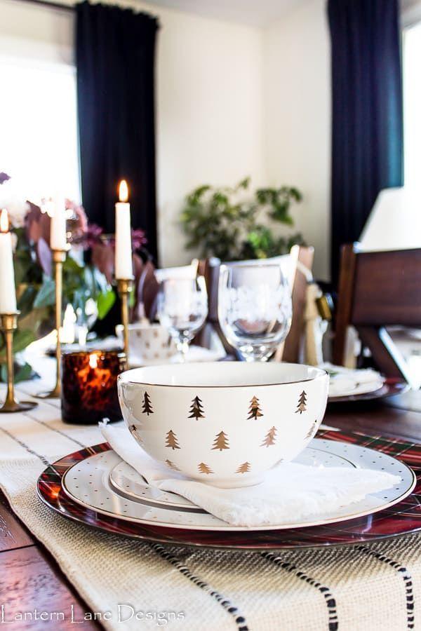 Modern Christmas Table Setting Ideas Farmhouse Style Lighting Fixtures Christmas Table Settings Farmhouse Style Lighting