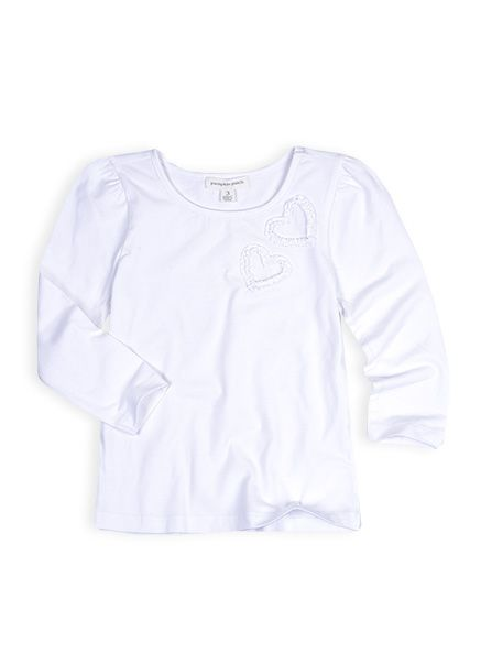 Pumpkin Patch - tops - girls core knitted long sleeve tee - W4EG12003 - milk - 0-3m to 12