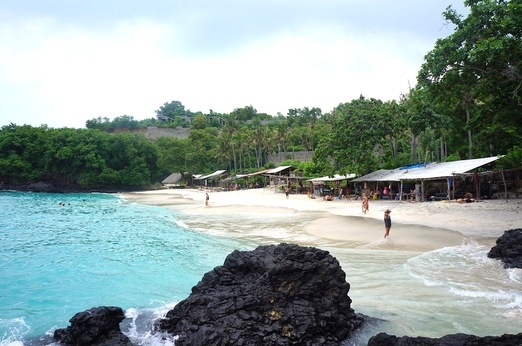 The Bias Tugal Beach was hidden, but it will soon be having properties nearby. Photo by Raditya Margi.
