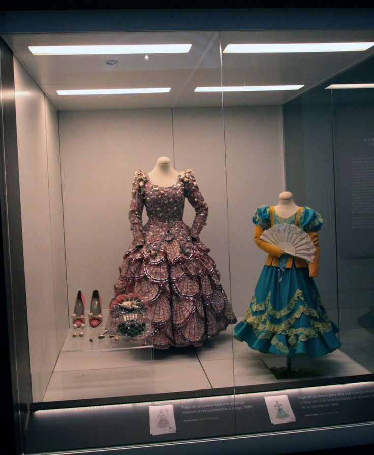 "Exhibition ""Lina wearing the Flamenco"" at the Museum of Popular Arts and Traditions of Sevilla."