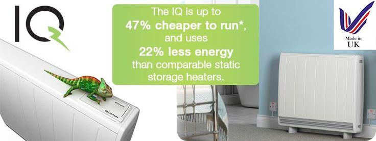 The Dimplex IQ provides up to 90% of your heating using off-peak energy. Due to exceptional insulation materials, it also has a lower thermal conductivity than still air, minimising heat loss.