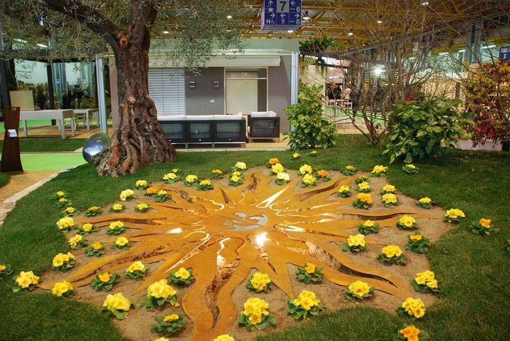 A #OrtoGiardino anche #installazioni incantevoli! #gardening #design #green #light #LerianSrl