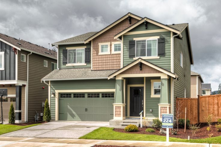 176 best curb appeal images on pinterest curb appeal for New homes seattle washington area