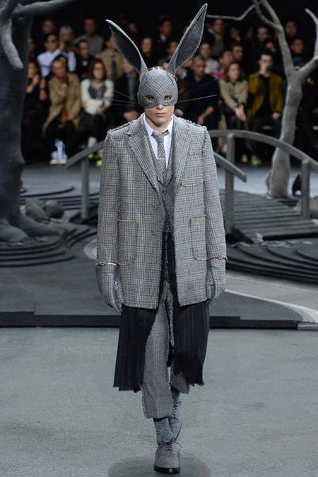 Thom Browne FallWinter 2014 - Paris Fashion Week