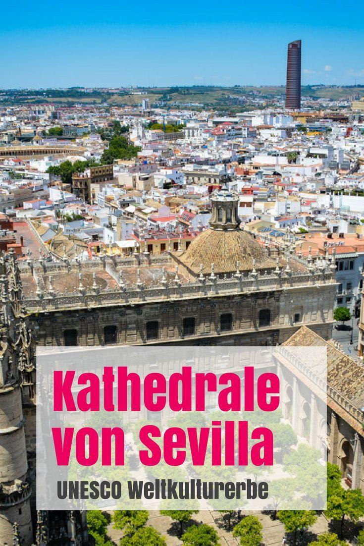 Die Kathedrale von Sevilla ist die grö�te Kathedrale der Welt, die grö�te gotische Kirche der Welt und die drittgrö�te Kirche überhaupt von der Welt. Au�erdem befindet sich hier das Grabmal von Christoph Kolumbus. Und natürlich die Giralda. Mehr Info jetz