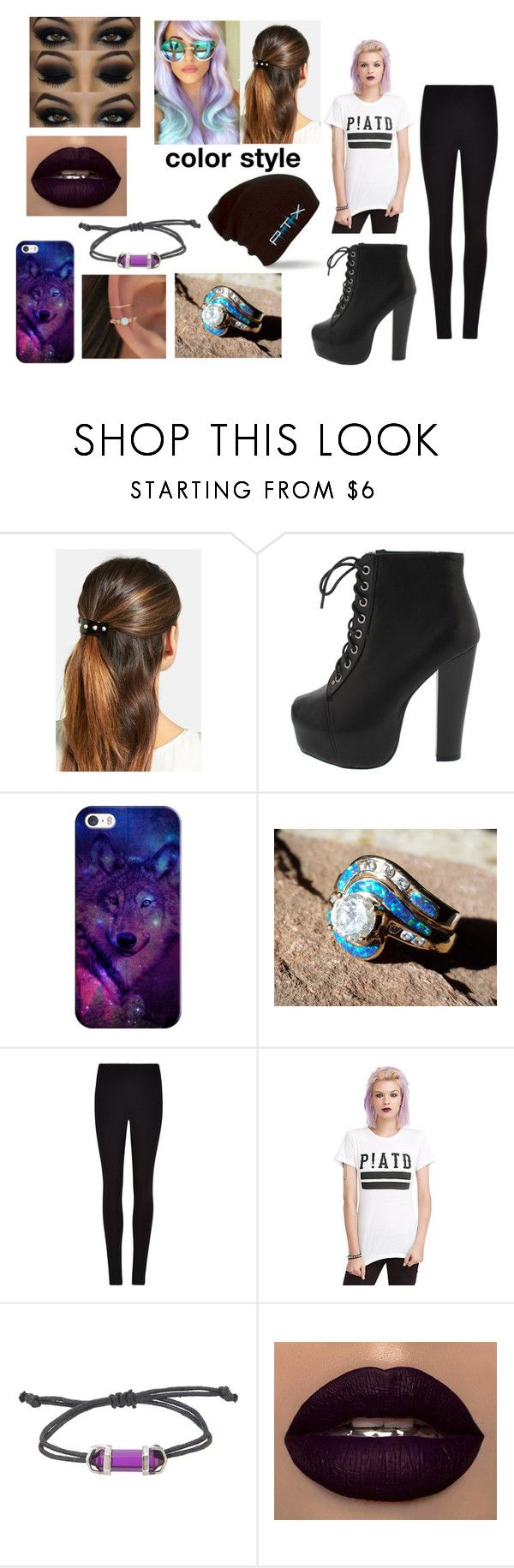 """""""Shopping with the Squad"""" by sup3rfruitdjooptx ❤ liked on Polyvore featuring L. Erickson, Casetify and Winser London"""