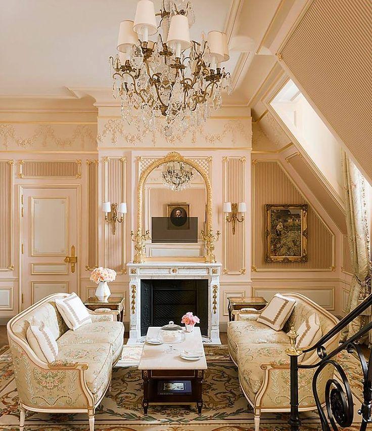 Louis XVI Style Attic Sitting Room