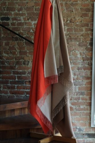 #LinenWay #Throw #Baby Alpaca #Double-sided Throw #BabyAlpacaThrow #Modern Throw