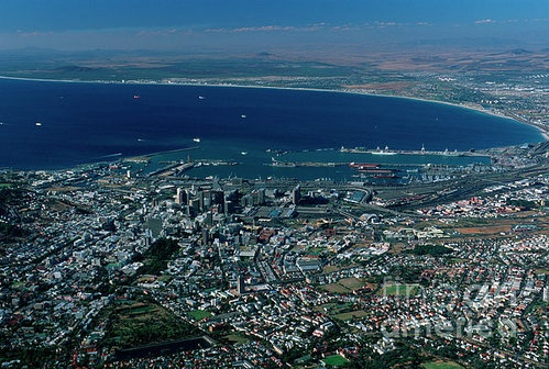 Cape Town from Fine Art America