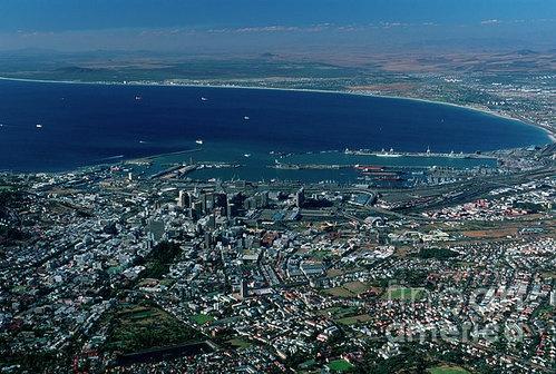 Cape Town from Fine Art America