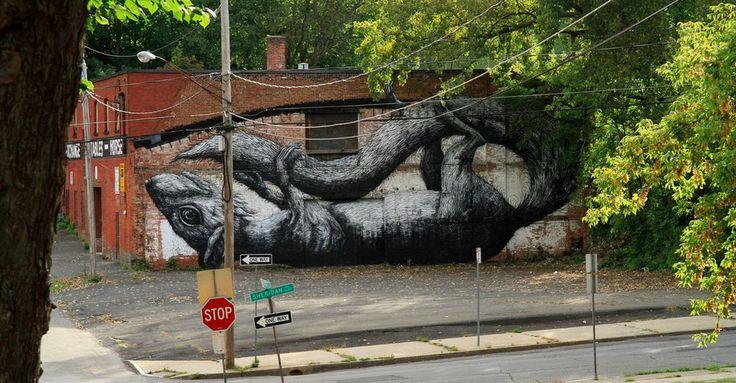 27 Raddest Animal-Themed Graffiti
