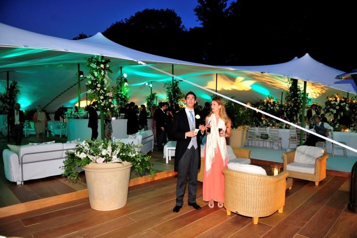 Coloured up-lighting can turn any tent into a magical space - today's LED spot lights are programmable to any colour and any combination! All you need to do is imagine...