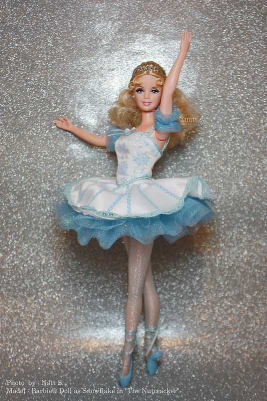 "Barbie® Doll as Snowflake in ""The Nutcracker"" by Natt S. / little-dools-room"