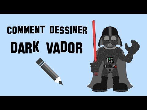 Comment dessiner dark vador youtube dessin pinterest - Comment dessiner une star ...