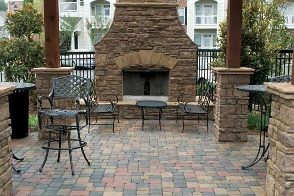 patio designs for gardens
