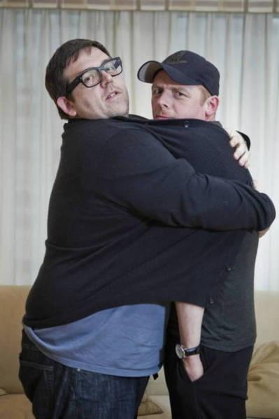 Nick Frost, Simon Pegg