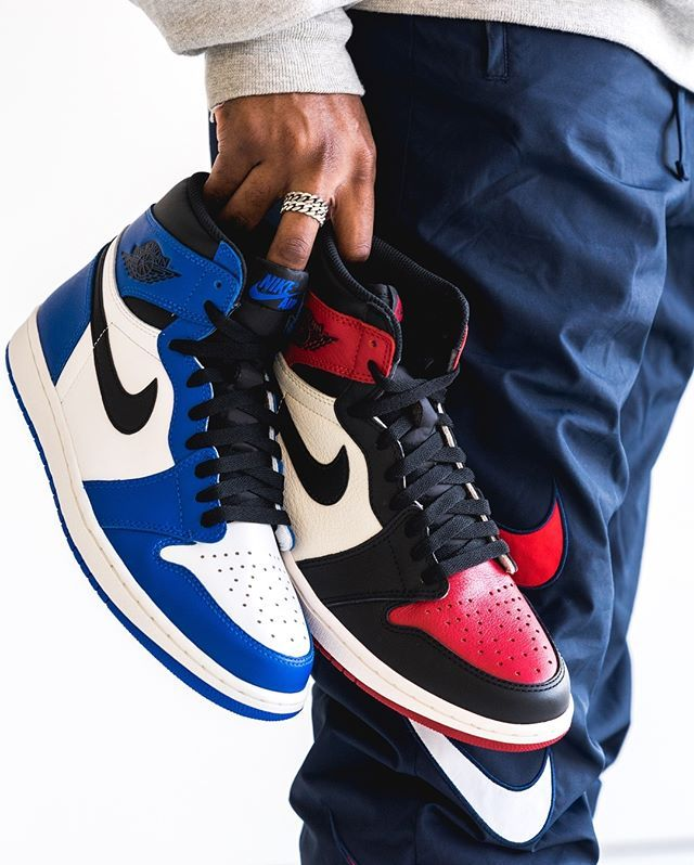 Swipe For Our Closer Look At The Air Jordan 1 Retro High Bred Toe