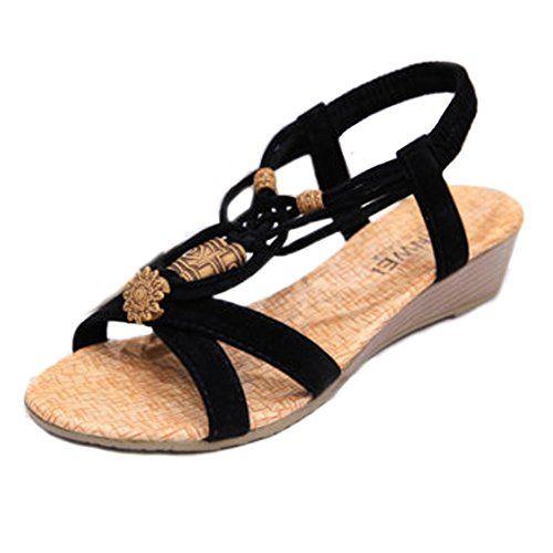 Sandalias de vestir Sumersworth Slide para mujer, Marr¨®n oscuro, 5 M US