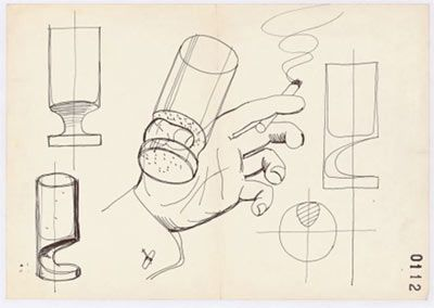 Joe Colombo - 'smoke glass', 1964