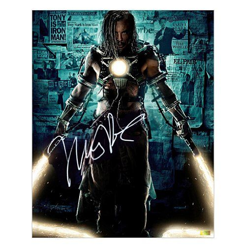 Mickey Rourke Autographed 16x20 Iron Man 2 Whiplash Poster @ niftywarehouse.com #NiftyWarehouse #Nerd #Geek #Entertainment #TV #Products